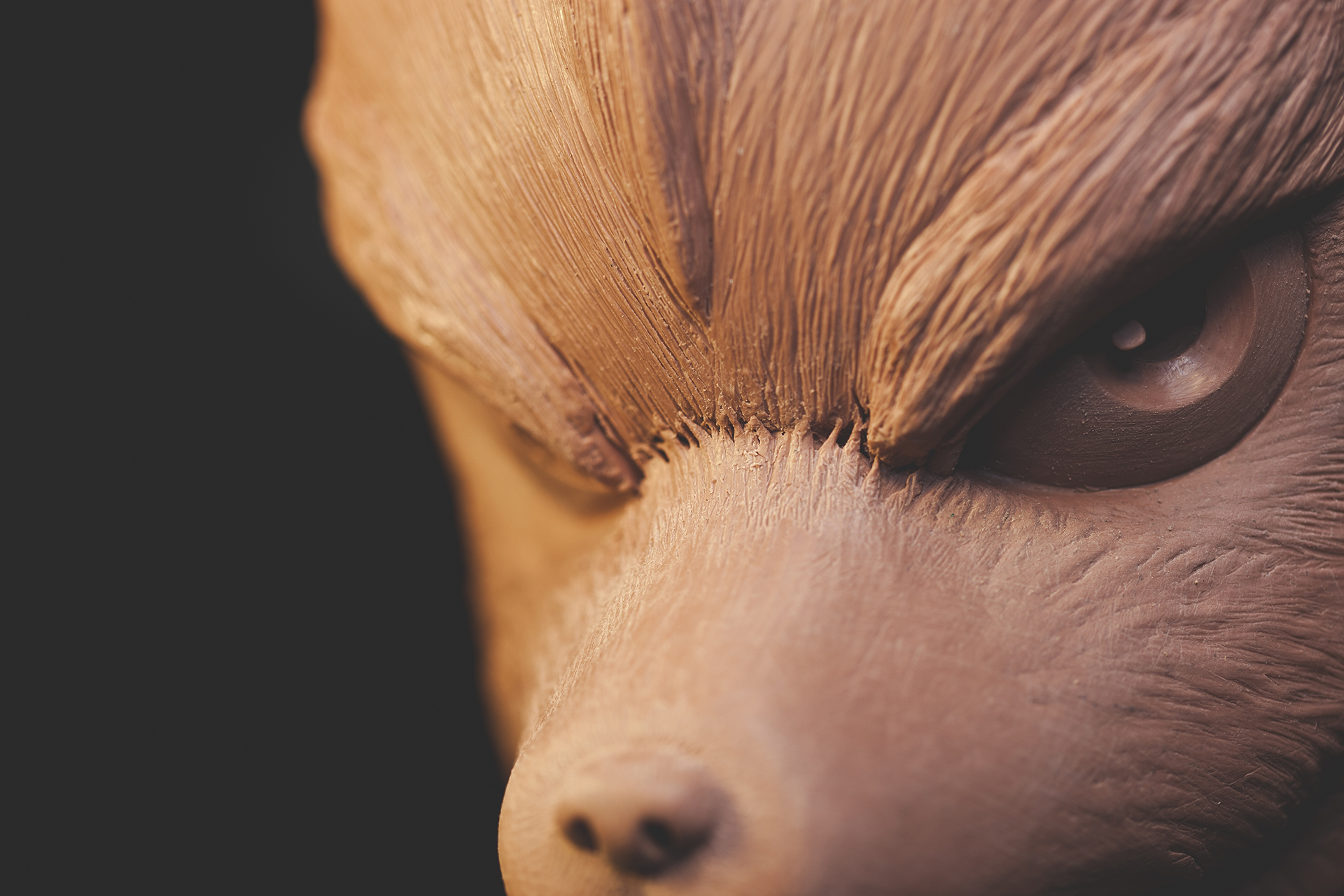 Fox McCloud from Starfox by sculptor Chris Vierra of Sculpture_Geek