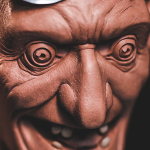 Mad Dr. from Sculpting a Stylized Character Tutorial by sculptor Chris Vierra of Sculpture_Geek.
